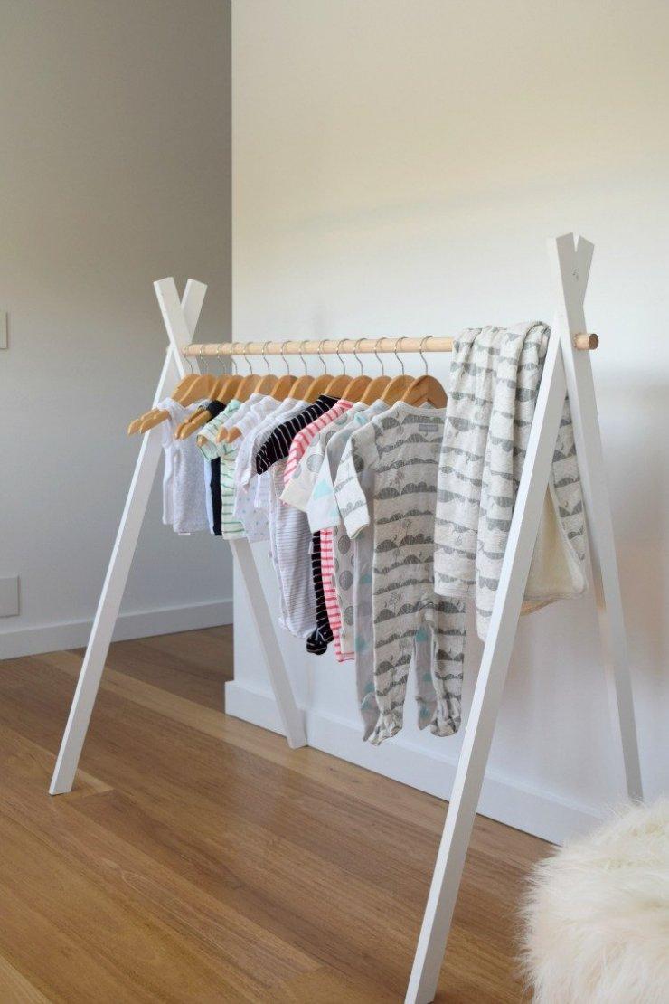 DIY- zrób to sam-wieszak na ubrania dla dzieci na Stylowi.pl