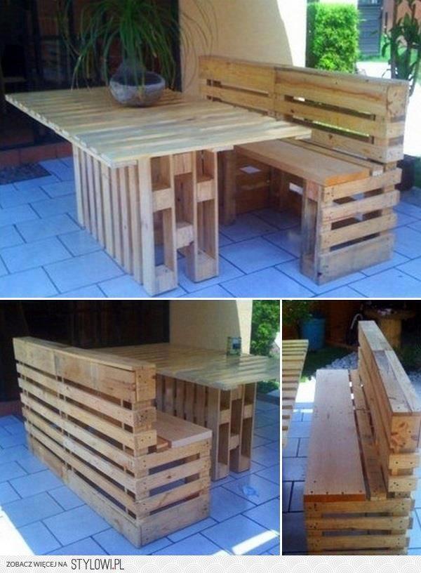 Meble Ogrodowe Do Samodzielnego Składania : Zrób To Sam Meble Do Ogrodu Z Drewnianych Palet Pomysły I Pictures