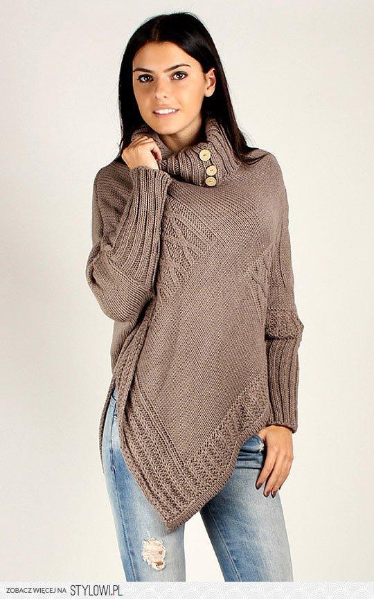 Асимметричный Пуловер Доставка