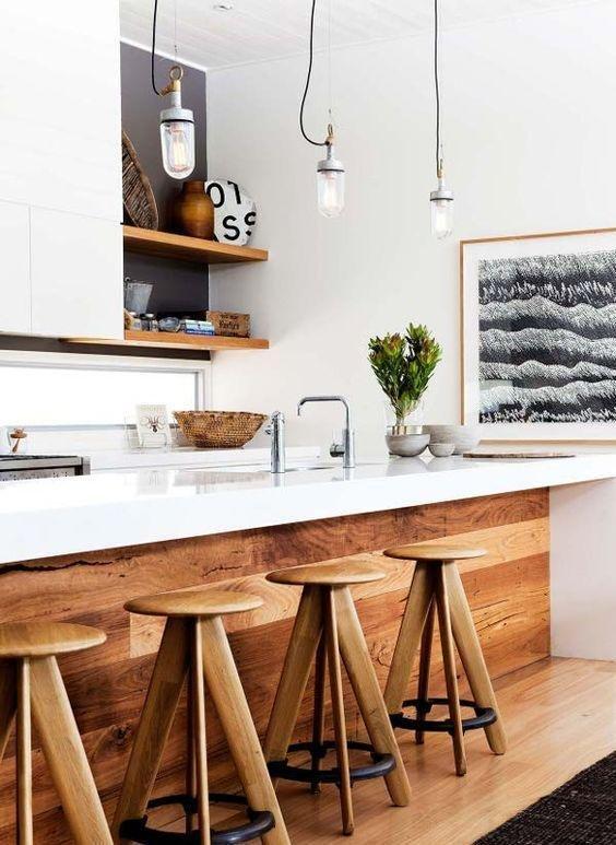 Drewniana kuchnia 12 pomysłów na wykorzystanie drewna… na   -> Drewniana Kuchnia Roma