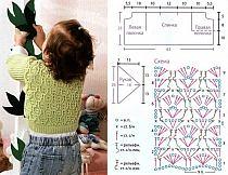 Вязание штанишек для новорождённого 8