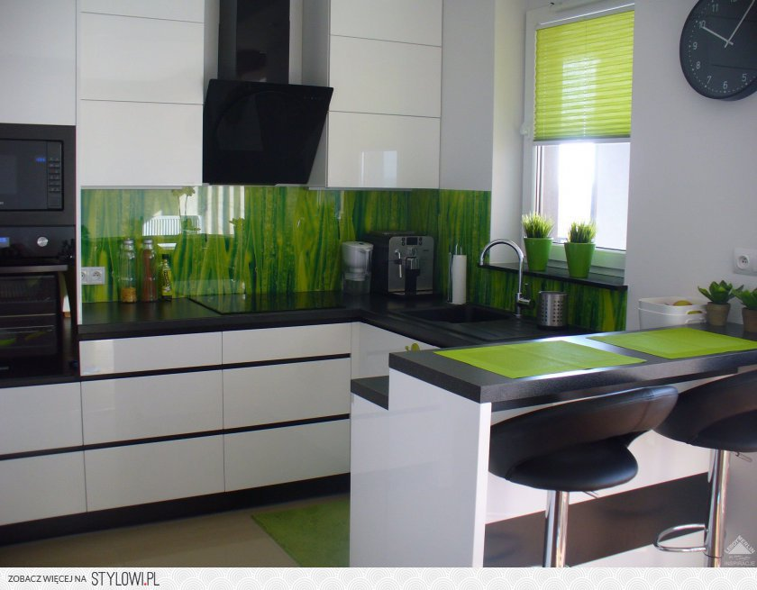 biała kuchnia  Najwyżej oceniane  Wasze Wnętrza Leroy… na Stylowi pl -> Leroy Merlin Kuchnia Fiona Biala