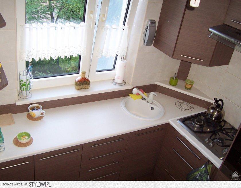 mała kuchnia w bloku  Kuchnia  Wasze Wnętrza Leroy Me   -> Wnetrza Leroy Merlin Kuchnia