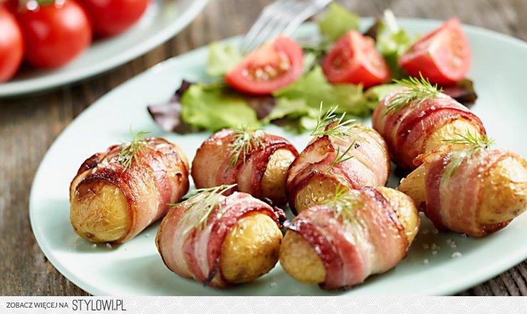 Mlode Ziemniaki Z Grilla W Boczku Kuchnia Lidla Co K Na Stylowi Pl