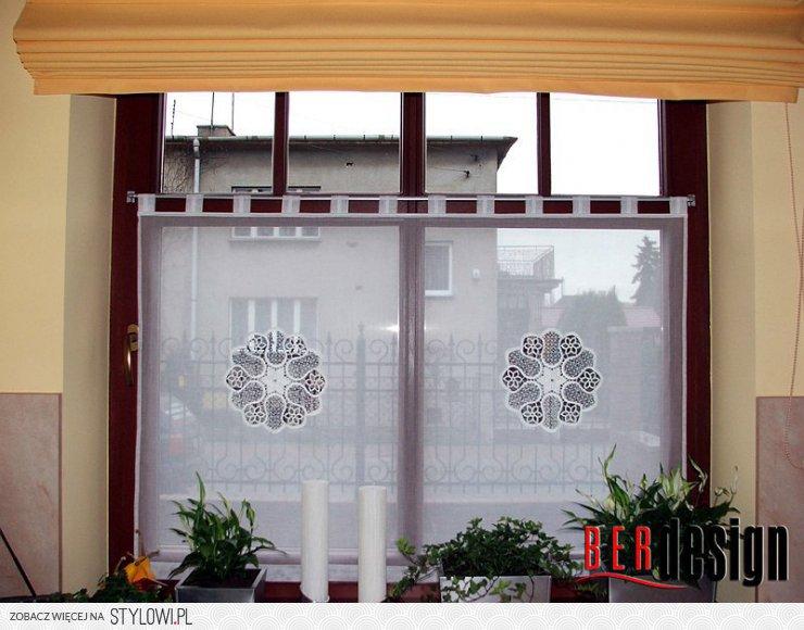 Galeria Firan Kuchnie Dekoracja Okien Firany I Zasło Na