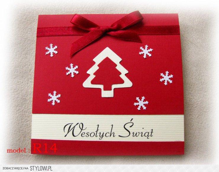 Poważne KARTKI świąteczne ręcznie robione 48 modeli (1311948792… na Stylowi.pl NT46