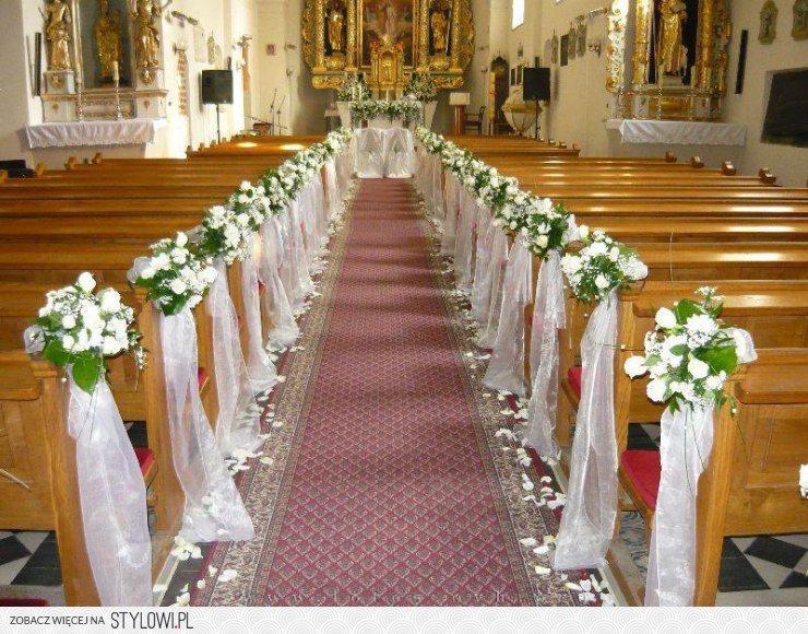 Wybitny dekoracja kościoła na ślub - Szukaj w Google na Stylowi.pl ML38