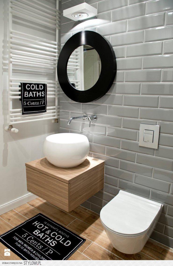 łazienka Styl Eklektyczny łazienka Zdjęcie Od Marysia Na