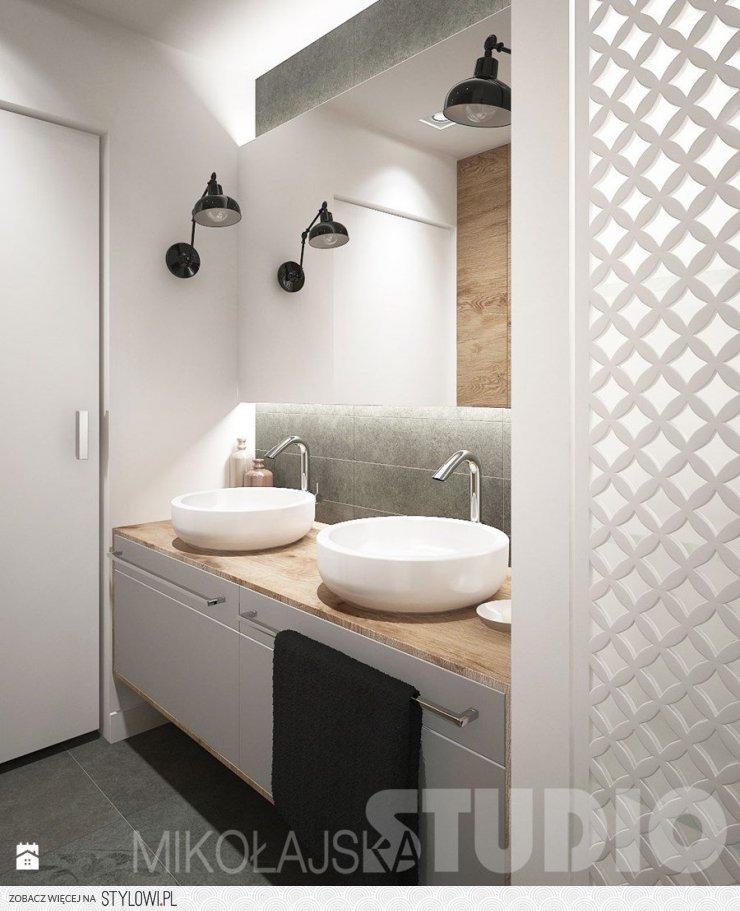 łazienka Styl Skandynawski łazienka Zdjęcie Od Mikoła Na