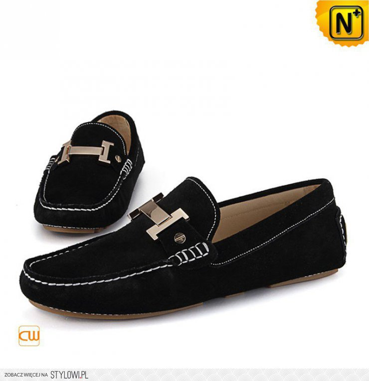 22d53ac13785b Cwmalls Mens Leather Driving Shoes Loafers CW713125 na Stylowi.pl