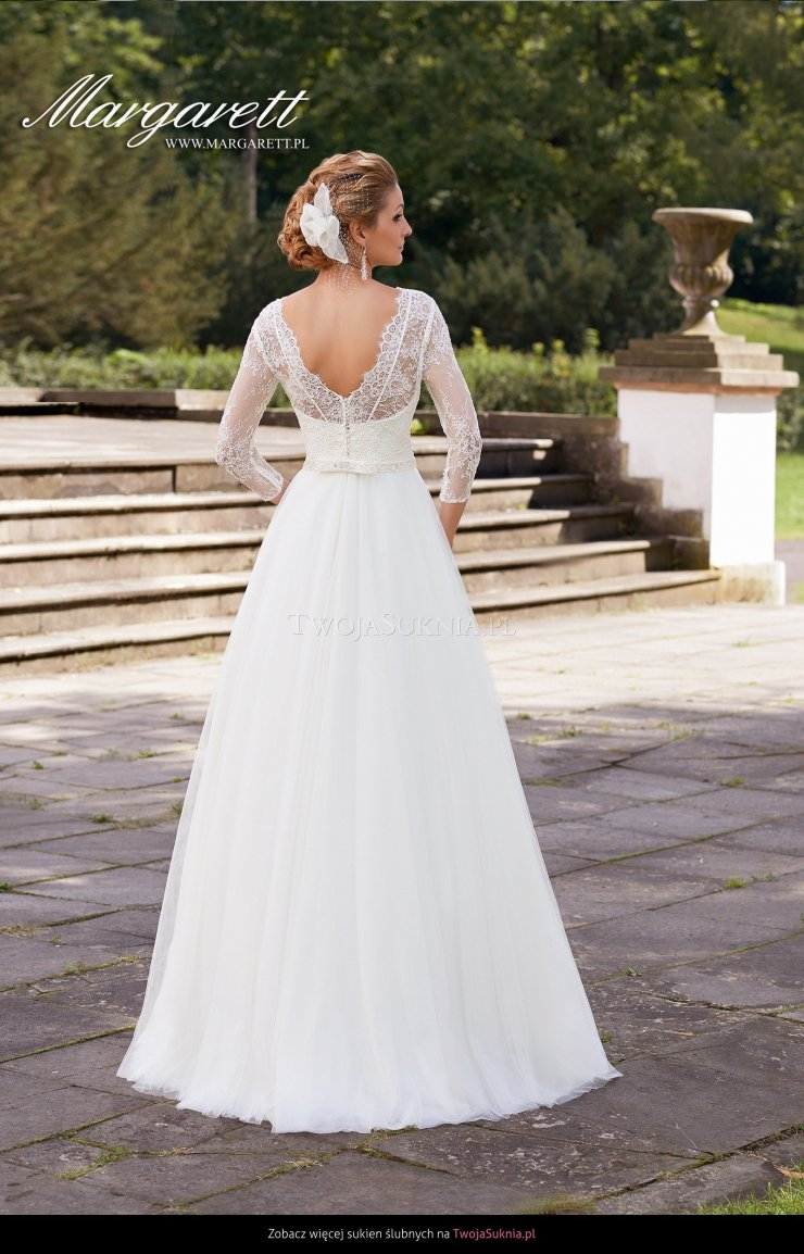 92915a90c0 Suknia ślubna Margarett Honorata Hollywoodiano - TwojaS… na Stylowi.pl