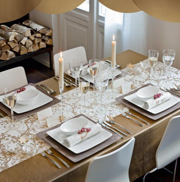 2581dda79810a2 Jak udekorować stół na uroczystą kolację   DailyTips.… na Stylowi.pl