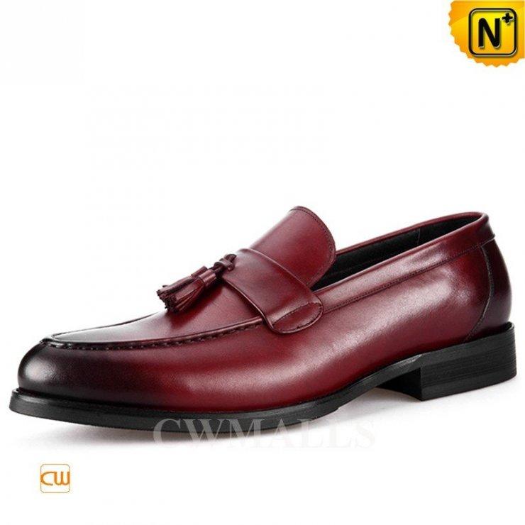 aac4099b9f8ca CWMALLS® Slip-on Tassel Leather Dress Shoes CW716038 na Stylowi.pl