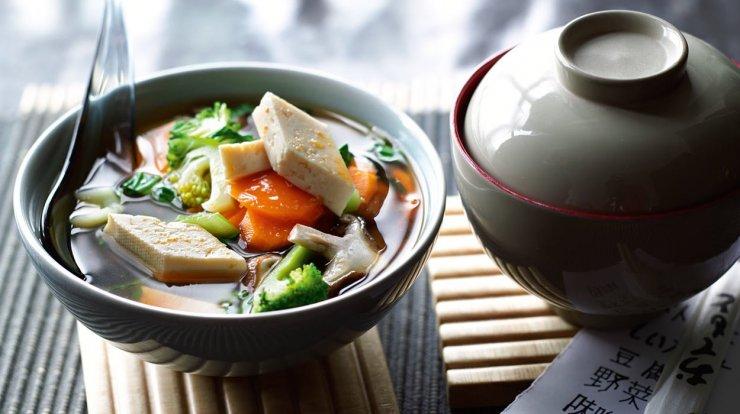 Przepis Na Zupę Miso Z Warzywami I Tofu Kuchnia Lidla Na