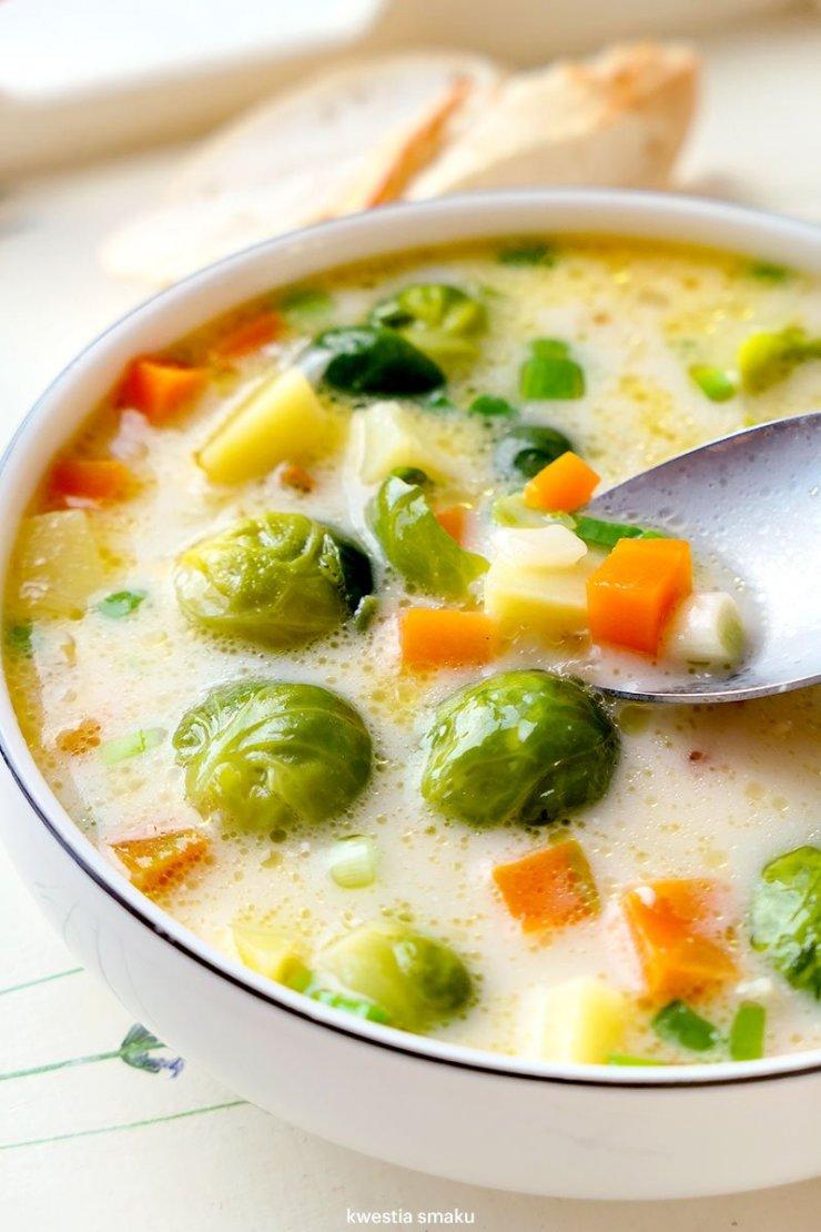 Zupa Brukselkowa Kwestia Smaku Na Stylowi Pl