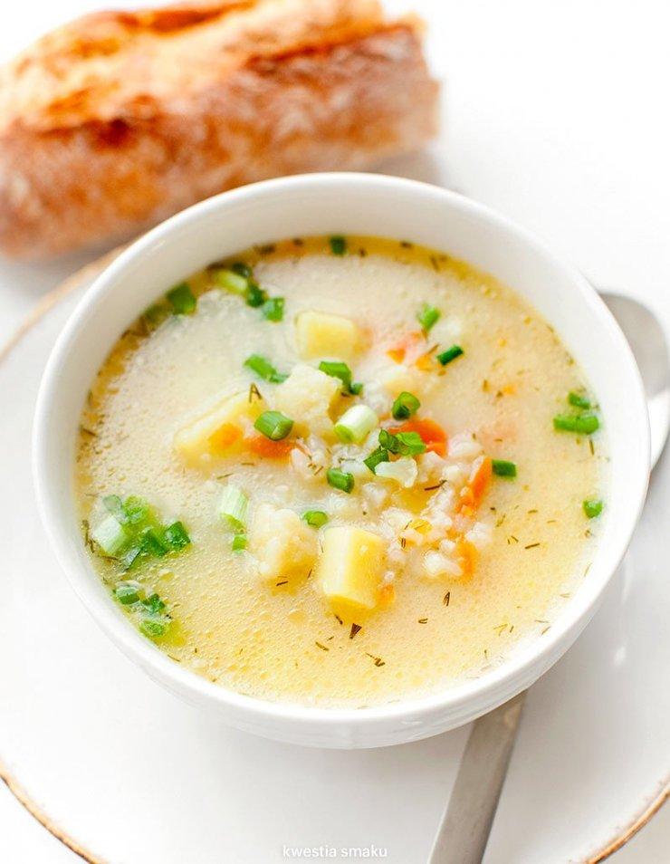Zupa Kalafiorowa Z Ryzem Kwestia Smaku Na Stylowi Pl