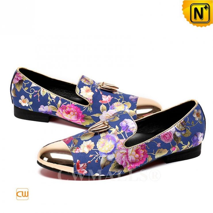 76f9a9bbd665c Patented Leather Shoes | CWMALLS® Printed Leather Dress… na Stylowi.pl