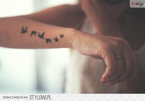 Delikatne Tatuaże Na Stylowipl