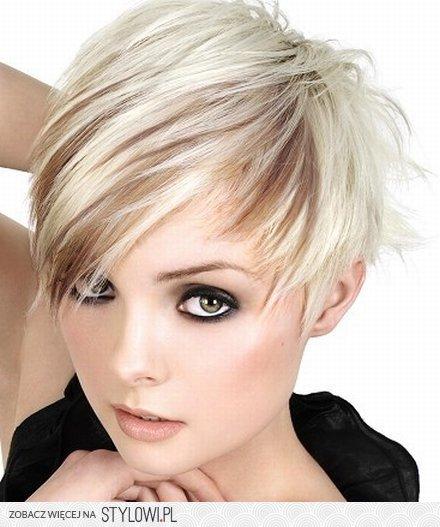 Krótkie Blond Pazurki Na Stylowipl