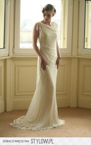 Suknia ślubna W Stylu Retro Lata 20 Te Salon Sukien ś Na Stylowipl