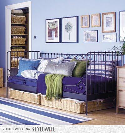 Ikea Meldal łóżko Sofa Rama Dno 90x200 205528120 Na