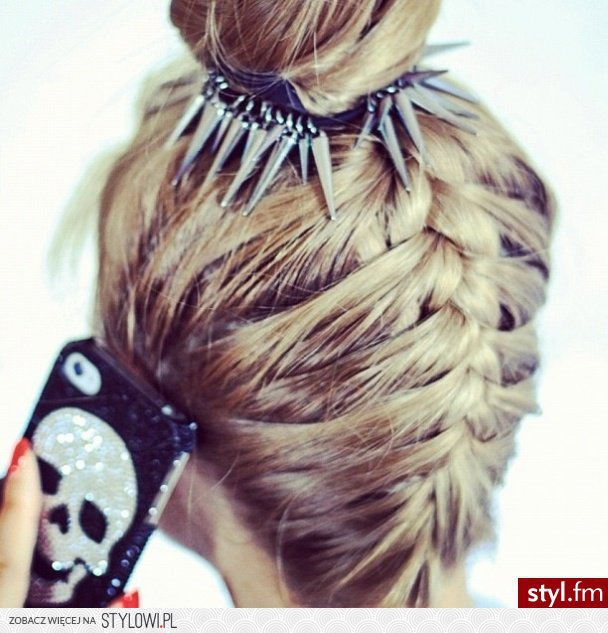 Fryzury Upięcie Włosy Fryzury Długie Na Co Dzień Pros Na