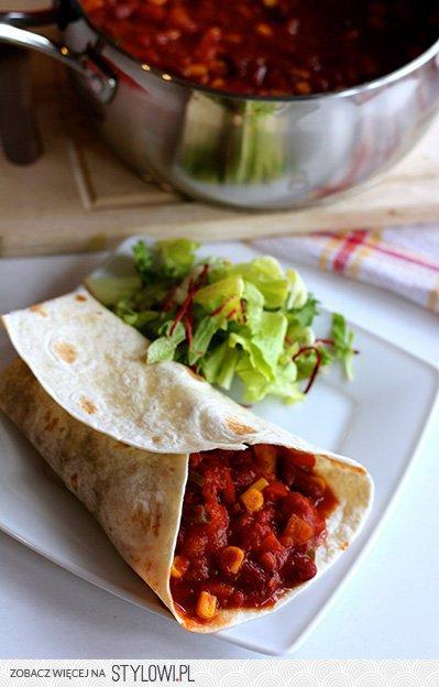 Najlepsze Burrito Kuchnia Meksykanska Przepis Mart Na Stylowi Pl