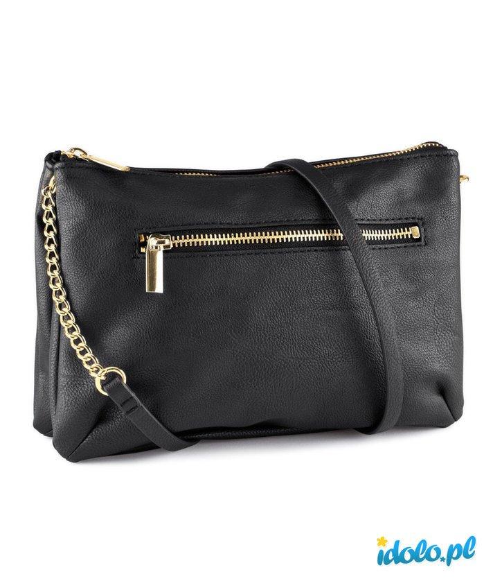 7123a9dddd5a6 torebka H M w kolorze czarnym na łańcuszku - torebki na… na Stylowi.pl