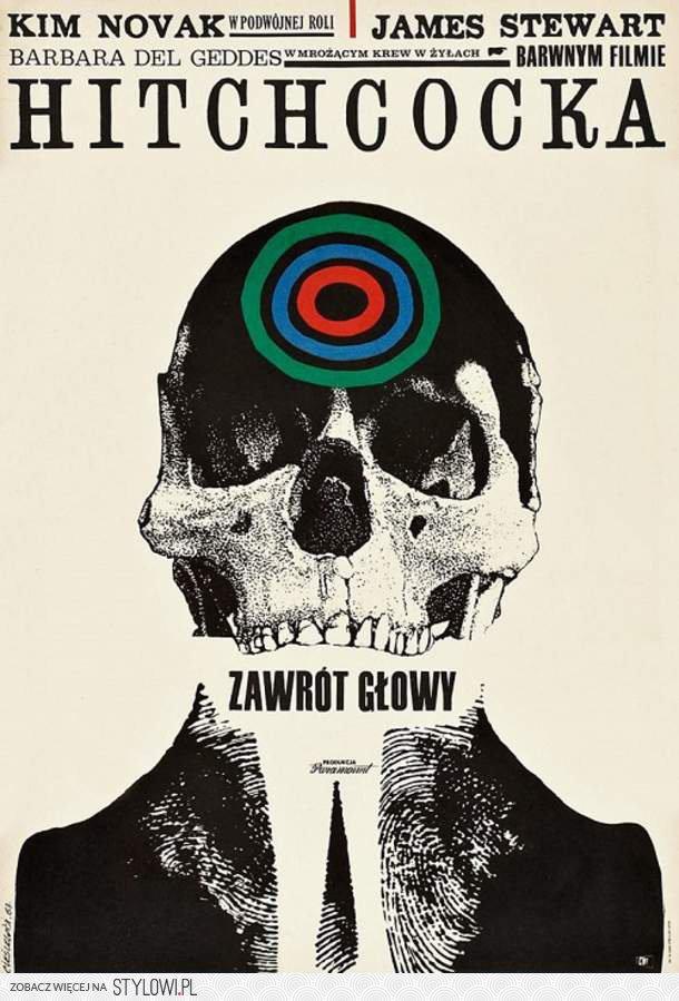 Zawrót Głoystare Polskie Plakaty Hollywoodz Na Stylowipl