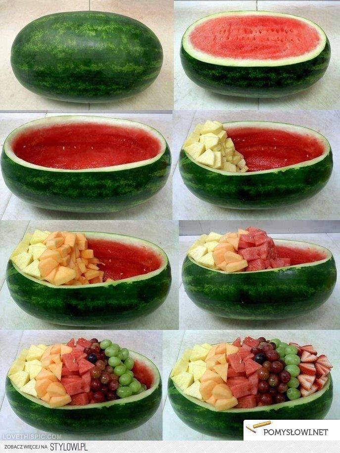 Super Pomysł Na Podanie Owoców Pomyslow Na Stylowipl
