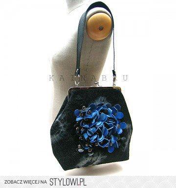 2306e53d74fd2 Pakamera.pl - torby na ramię - damskie - wełna z kobalt… na Stylowi.pl