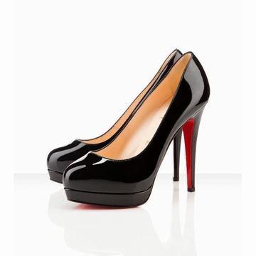 meet 47238 00c19 Black Christian Louboutin Alti 140mm Patent Leather Pla… na ...