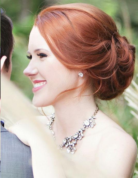Fryzura ślubna Rude Włosy Na Stylowipl
