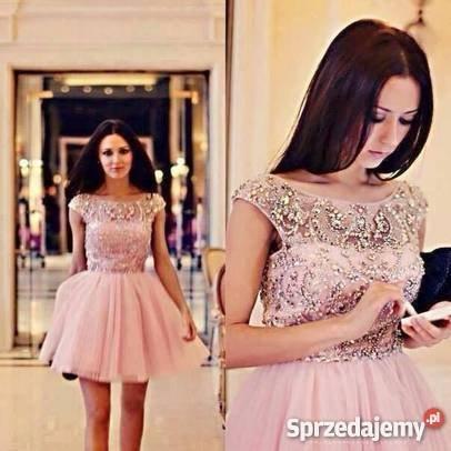 Groovy Sherri Hill sukienka rozkloszowana z kryształkami XXS-X… na Stylowi.pl ZP76
