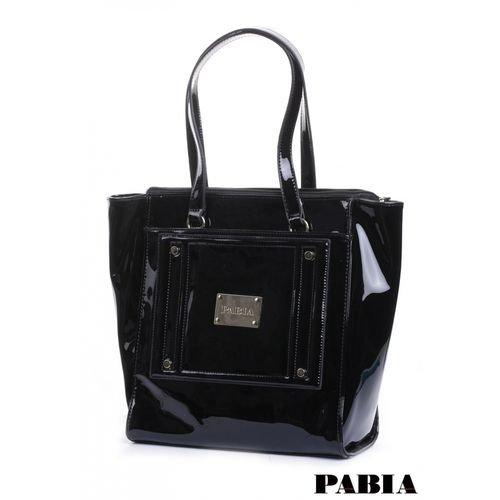 4c091befb5b11 Pabia Lakierowana torebka na rączkach Torba 15W BAG9900… na Stylowi.pl