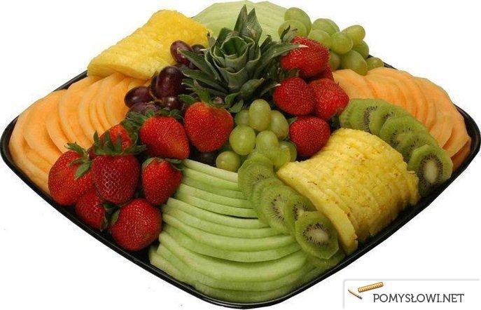 Pomysł Na Podanie Owoców Na Stylowipl