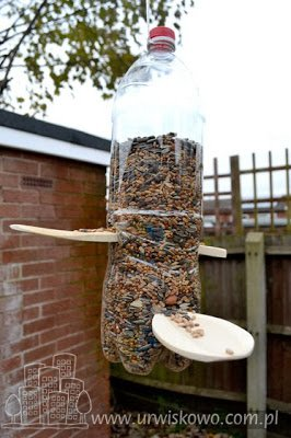 Karmnik Dla Ptaków Z Butelki Na Stylowipl