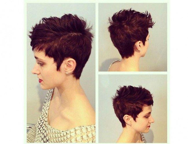 Krótkie Fryzury Dla Kobiet 40 Z Grzywką Pixie Cut T Na Stylowipl