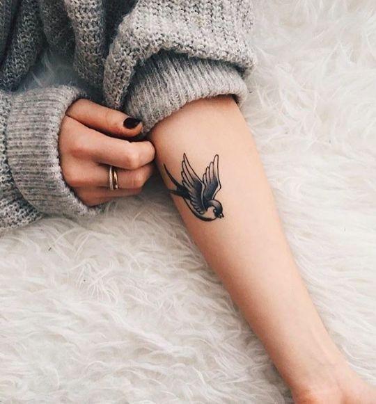 Tatuaż Z Motywem Ptaka One Nas Najbardziej Urzekły Na Stylowipl