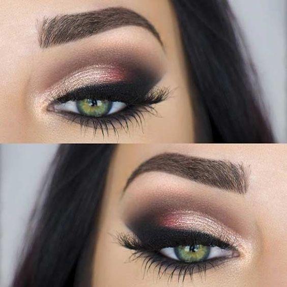 Geleria Makijażu Makijaż Do Zielonych Oczu Na Stylowipl