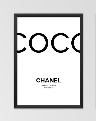 Coco Chanel Plakaty Z Napisami Tutaj Httpallegrop Na