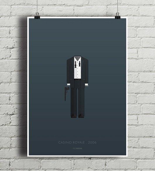 James Bond Casino Royale Plakat A4 Na Stylowipl