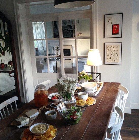b62a4efae046b Mieszkanie Zosi Cudny. kuchnia z jadalnią oddzielona… na Stylowi.pl