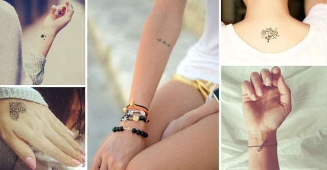 Subtelne Tatuaże Dla Delikatnych Kobiet Galeria Trend Na
