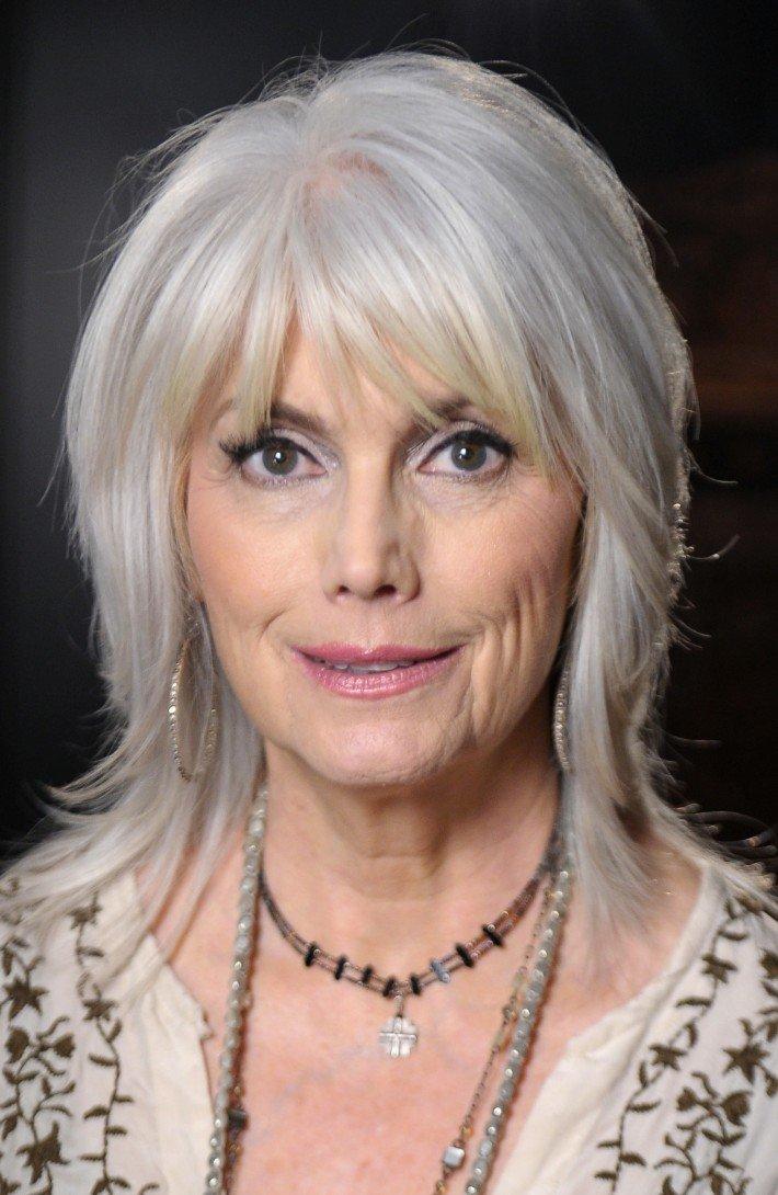 Piękne Siwe Włosy Fryzury Galeria Na Stylowipl