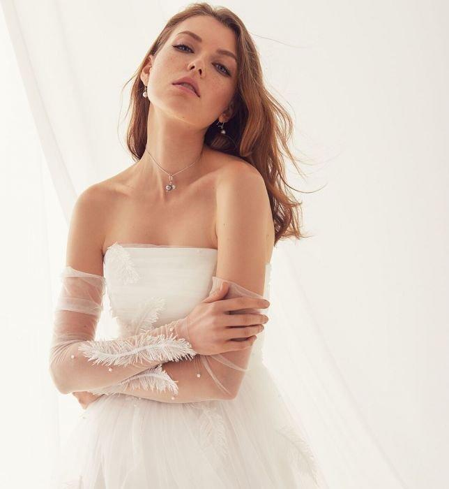 Suknie ślubne Rina Cossack 2018 Elle Wedding Trendy Na Stylowipl