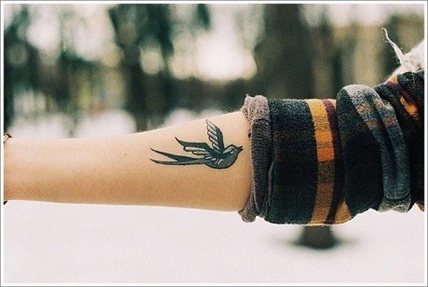 Znaczenie Tatuażu Jaskółka Pomysł Na Tatuaż Na Stylowipl
