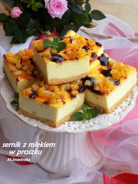 Domowa Cukierenka Domowa Kuchnia Sernik Z Mlekiem W Na Stylowi Pl