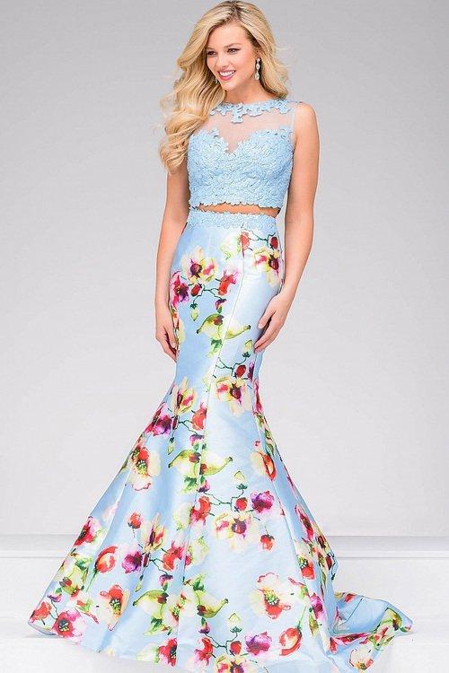 226d274db252 Jovani 49989 Two Piece Mermaid Dress na Stylowi.pl