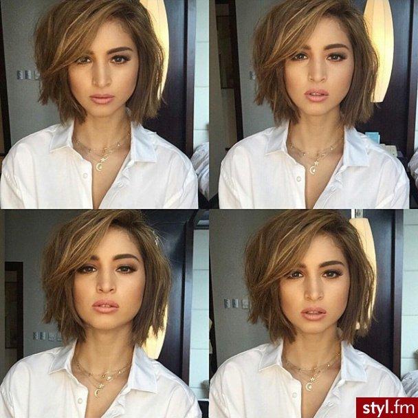 śliczne I Modne Cięcia Włosów Przed Ramiona Na Stylowipl